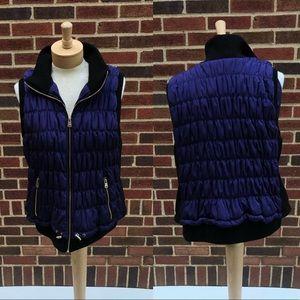Calvin Klein Performance Purple Puffer Vest 2X